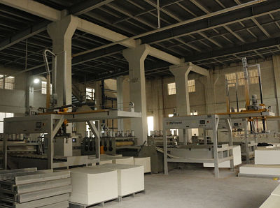 WPC extrusion machine
